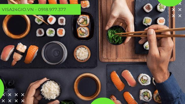 Những món ăn độc đáo và hấp dẫn tại Nhật Bản