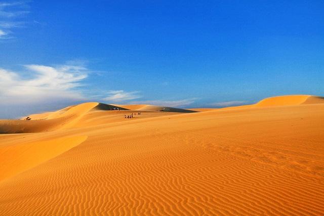 đồi cát Phương Mai mang trong mình vẻ đẹp đơn giản