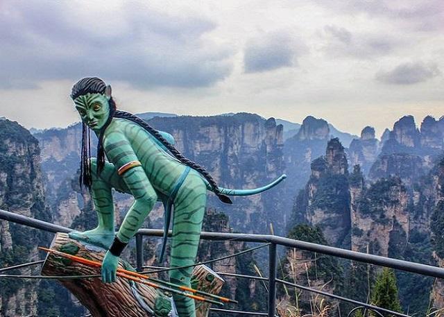 Trương Giới núi non hùng vĩ, nơi hội tụ của những kỳ quan thế giới tự nhiên tại Trung Quốc