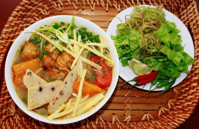 Bún cá Quy Nhơn nổi tiếng, không thể không thử
