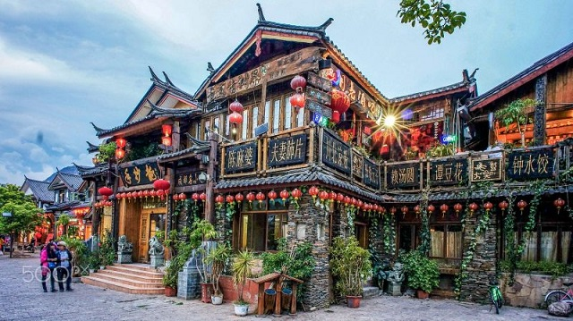 Thành cổ Lệ Giang Shangrila