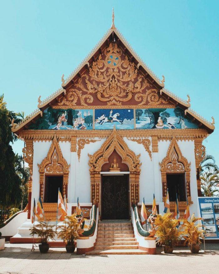Đền Luang tại Pakxe Champasak (Ảnh: ST)