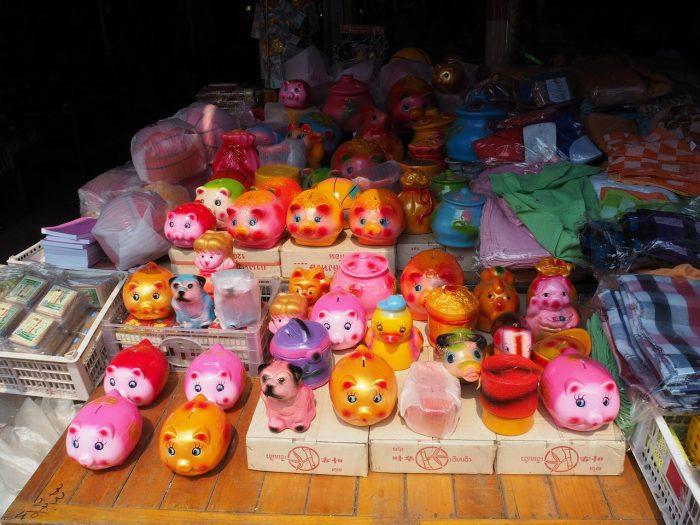 Một góc Chợ Daoheuang (Ảnh: ST)