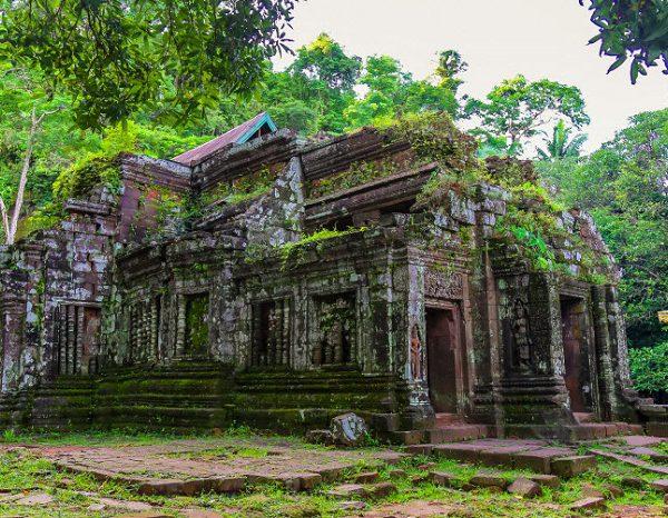 Đền Wat Phou (Ảnh: ST)