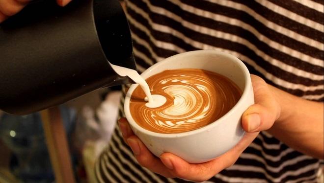 đến với Hoa Liên đừng quên thưởng thức món café sữa dê