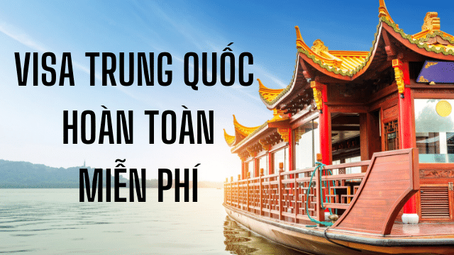 Xin visa du lịch Trung Quốc chỉ cần hộ chiếu 100% đậu visa