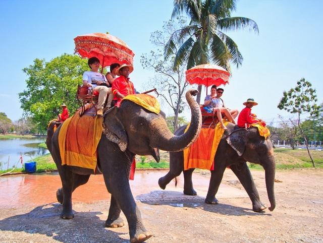 Đây là kinh đô của triều đại Thái Lan từ năm 1350-1767.