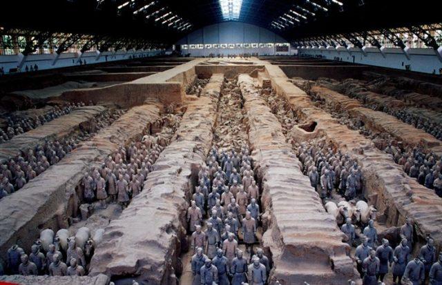 Lăng Mộ Tần Thủy Hoàng được xem là công trình kỳ bí