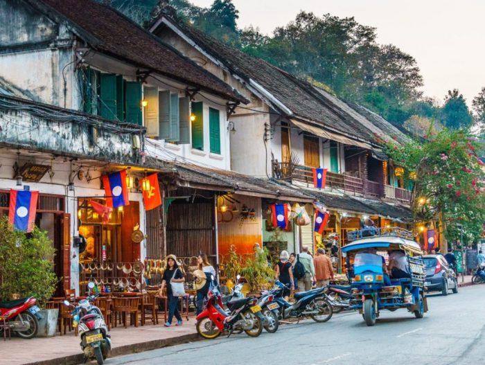 Khu phố cổ Luông Pha Băng (Ảnh: ST)
