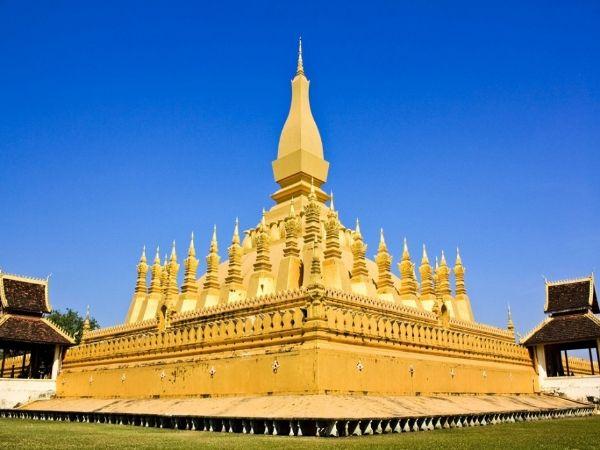 Đại Bảo Tháp (That Luang Stupa) (Ảnh: ST)