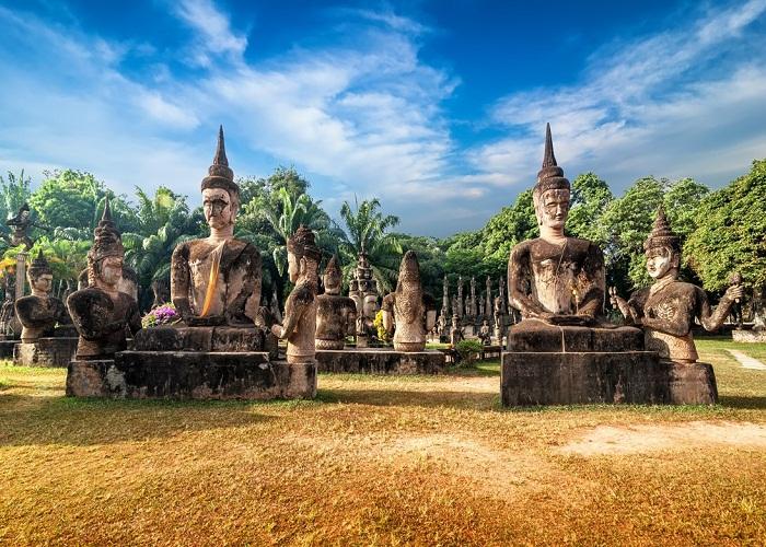 Vườn Phật Xieng Khuan (Ảnh: ST)