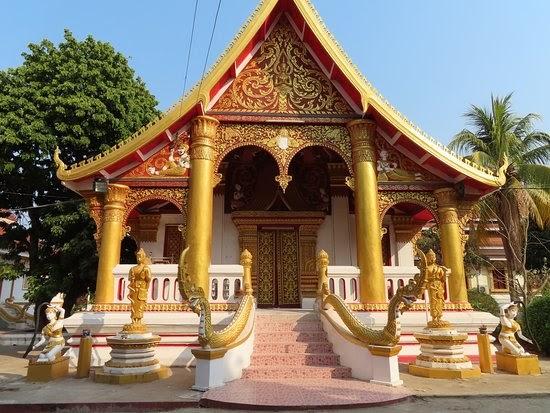 Chùa Wat Xayaphoum (Ảnh: ST)