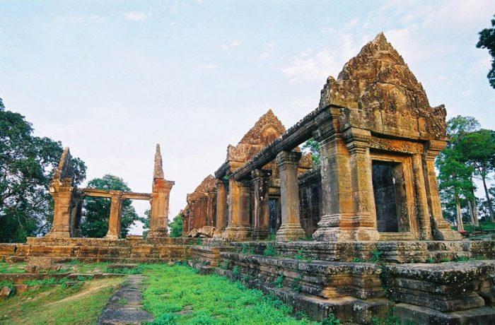 Đền Preah Vihear và những gì còn sót lại (Ảnh: ST)