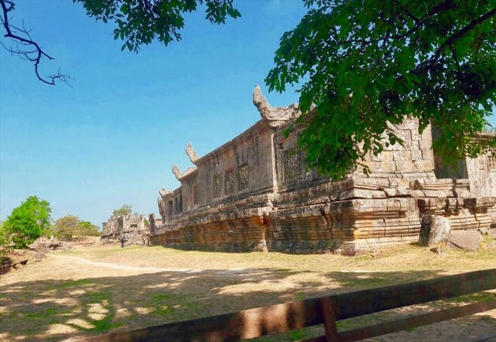 Một góc khác của đền Preah Vihear (Ảnh: ST)